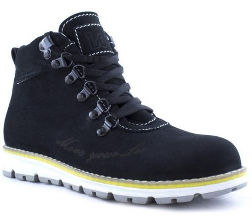 Imagen 1 de 1 de Zapato Bota Casual Lee Mujer - 301l