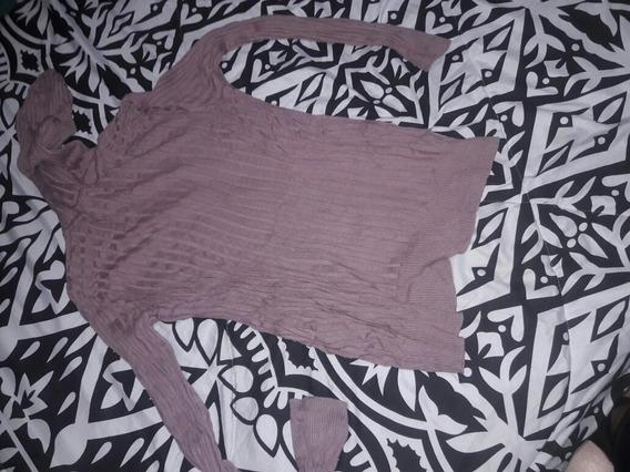 Sweater Tascani De Hilo Al Cuerpo