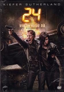 24 Vive Un Nuevo Día - Pack 4 Dvds Original Nuevo Sellado