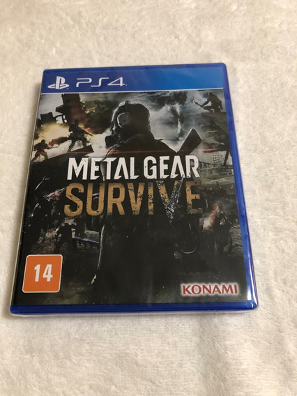 Metal Gear Survive - Lacrado De Fabrica - Legendas Em Pt