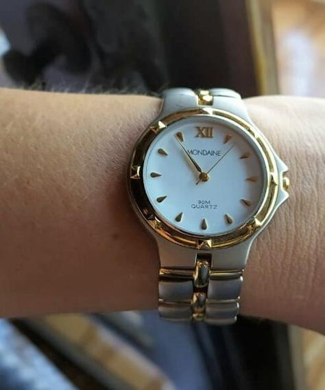Relógio Feminino Mondaine Bicolor