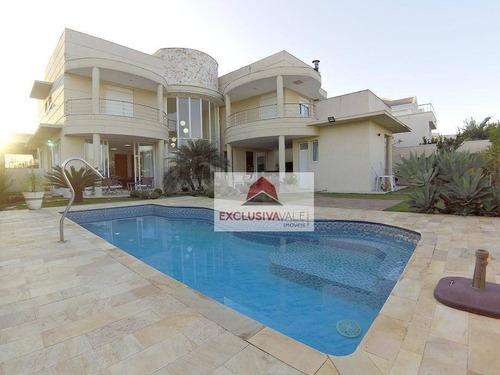 Casa Com 4 Dormitórios À Venda, 450 M² Por R$ 3.515.000,00 - Urbanova - São José Dos Campos/sp - Ca0661