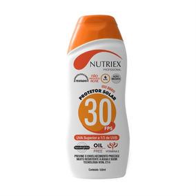 Protetor Solar Fps 30 120ml Nutriex