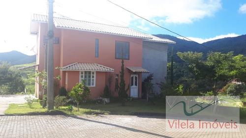 Imagem 1 de 15 de Casa Em Portal Das Mansões  -  Miguel Pereira - 1185