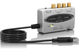 Behringer U-control Uca202 Ultra-interfaz De Audio Flexible
