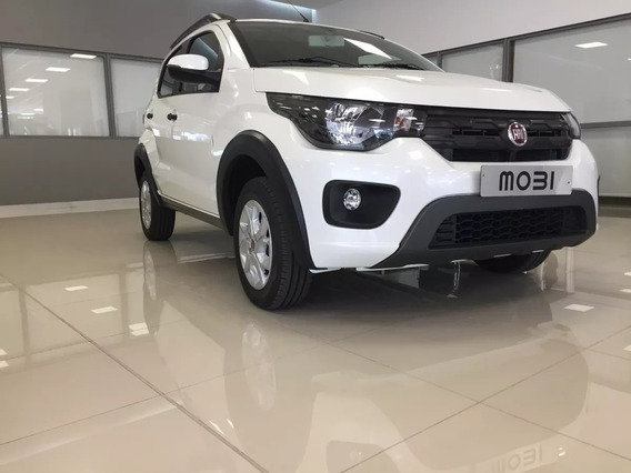 Fiat Mobi 1.0 0km Anticipo $65.200 Tomo Usados Y Planes A-