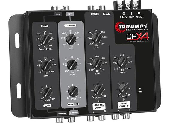 Crossover Taramps Crx 4 Activo Electrónico 4 Vias Audio Car