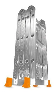 Escalera Articulada 4x4 16 Escalones 4,70 Mts Lusqtoff- Pintolindo