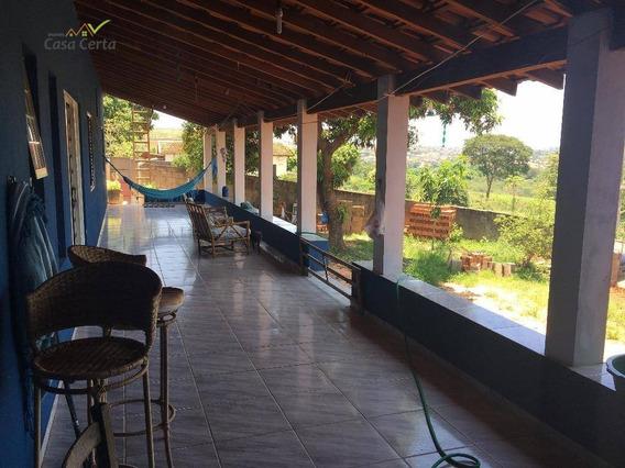 Casa Residencial À Venda, Parque Do Estado Ii, Mogi Mirim. - Ca0699
