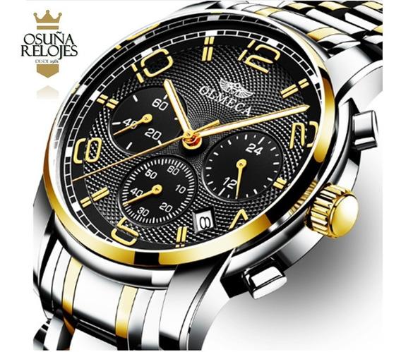 Relógio Masculino Blindado Anti Risco 100% Funcional Olmeca