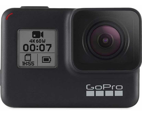 Câmera Gopro Hero 7 Black 12mp 4k Wifi