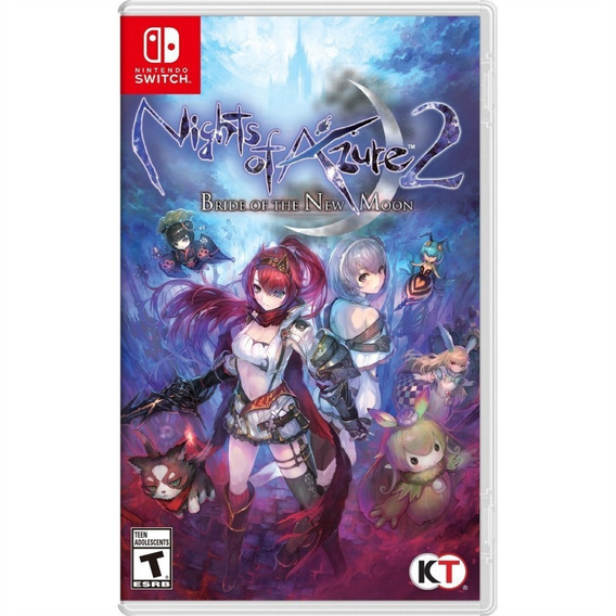 Nights Of Azure 2 Bride Of The New Moon - Switch Midia Fisic