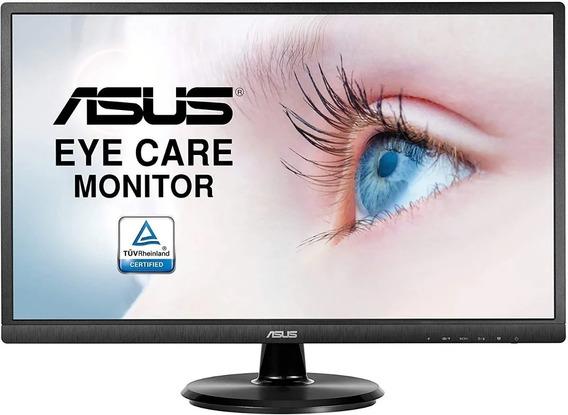 Monitor Led 24 Asus Full Hd Va24ehe Ips 75hz Hdmi Vga Dvi