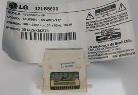 Botão Liga E Desliga Tv Lg 42lb5600 Original