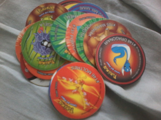 Pokemon Tazos Elma Chips