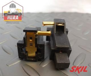 Porta Carbon Resorte Y Carbon Sierra Circular Skil