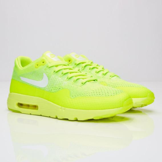 Tenis Nike Air Max 1 - Verde Limao - Original...