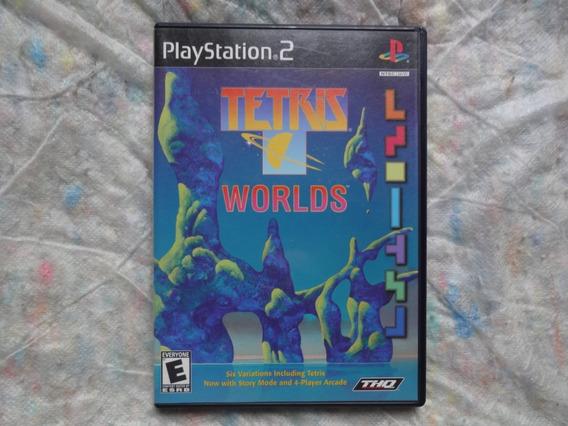 Tetris Worlds Ps2 Americano Original (frete R$ 12)