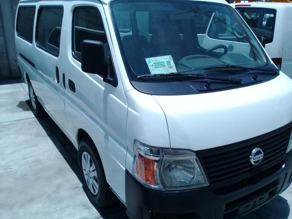 Nissan Urvan 2012 De Pasajeros Con Placa Verde $10,000.00