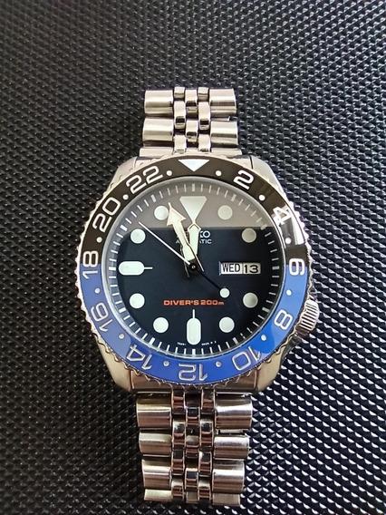 Relógio Seiko Skx 007 Batman