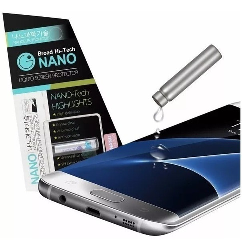Protector Líquido Nano Hi-tech iPhone 6 7 8  X Plus Colocado
