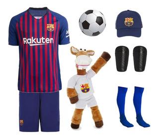 Kit Conjunto Barcelona + 5 Itens