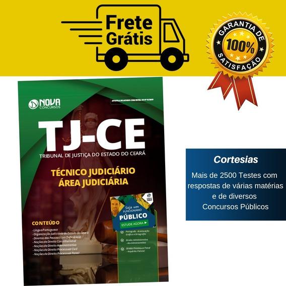 Apostila Tj Ce Técnico Judiciário Tribunal De Justiça Ceará