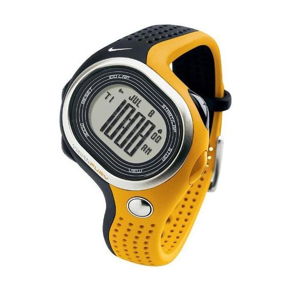 Relógio De Pulso Nike Triax Fury 100 Regular - Preto/amarelo
