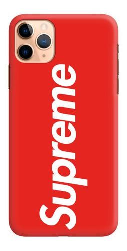 Case - Supreme Rojo - Carcasas Para Celular - Phonetify