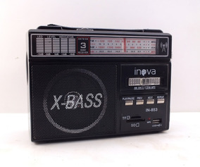 Caixa De Som Portátil Inova X-bass Usb - Mini Sd - P2 A10274