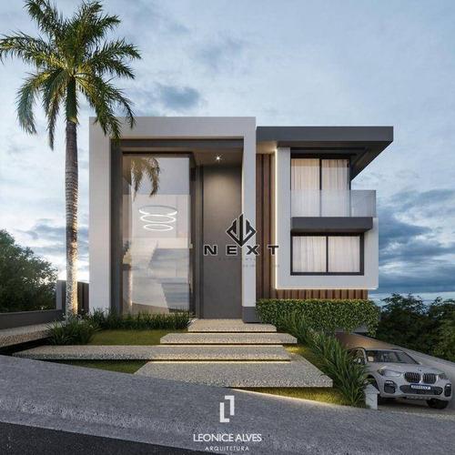 Imagem 1 de 2 de Casa Com 4 Suites À Venda, 505 M² No Residencial Tamboré 10 Em Alphaville - Santana De Parnaíba/sp - Ca0796