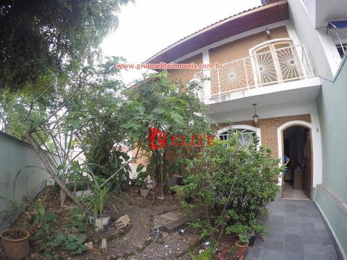 Sobrado Com 3 Dormitórios À Venda, 211 M² Por R$ 1.100.000,00 - Jardim Bela Vista - São José Dos Campos/sp - So0417