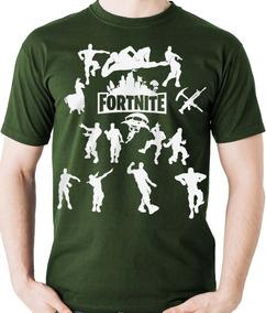 Camiseta Dança Fortnite - Game Dance Camisa Blusa Jogo Boss