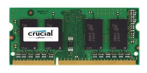 Memoria Ram Sodimm Ddr3 1600mhz 4gb Crucial Lv 1.35 Cl11 Mac