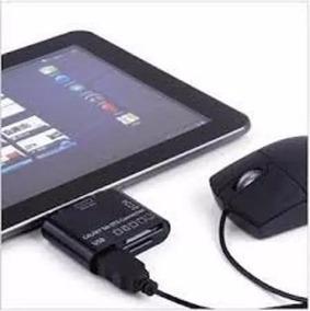 Leitor De Cartão Adaptador Usb P3110 Tablet Samsung Galaxy