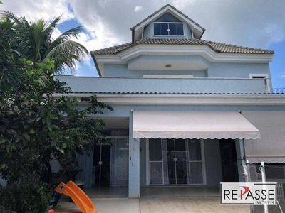 Casa Com 4 Dormitórios À Venda, 246 M² Por R$ 900.000 - Recreio Dos Bandeirantes - Rio De Janeiro/rj - Ca0140
