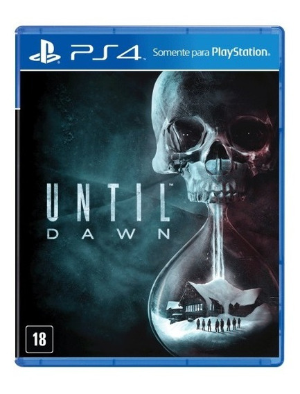 Until Dawn - Ps4 - Mídia Física - Novo