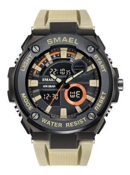 Relógio Masculino Militar A Prova De Shock Alta Qualidade