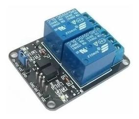 Shield Arduino Relé 2 Canais 5v Pic Raspberry Pi Automação