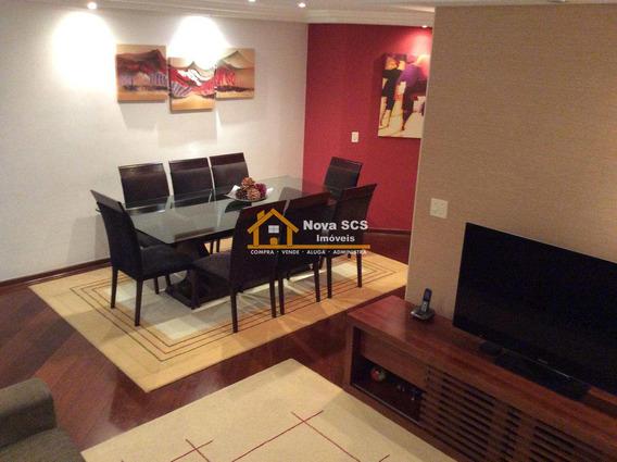 Apartamento Com 3 Dorms, Barcelona, São Caetano Do Sul - R$ 470 Mil, Cod: 72 - V72