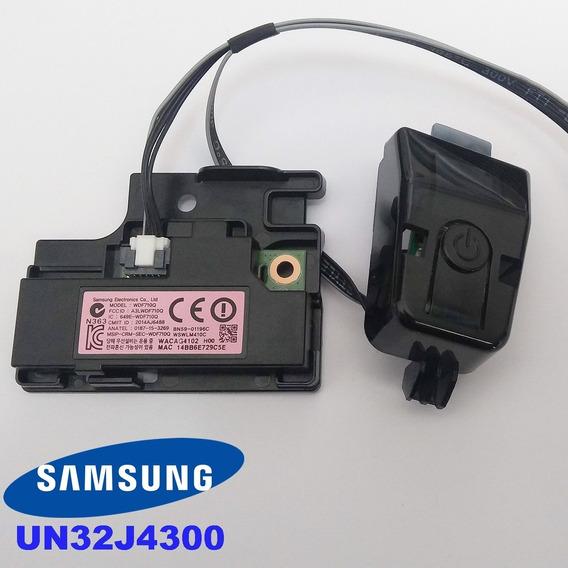 Modulo Wifi + Sensor Remoto + Botao Liga Desliga Un32j4300
