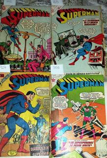 Revista, Comic, Historieta, Superman Novaro Mexico Gde