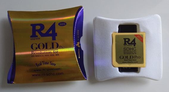 R4 Gold Com Cartão Micro Sd