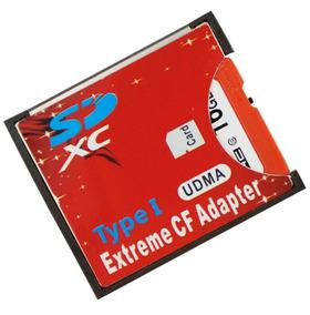 Adaptador Compact Flash Cf Para Sd Tipo 1 Cameras Cf Wifi
