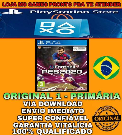 Pes 20 Efootball 2020 Standard Edition | Ps4 1 | Promoção