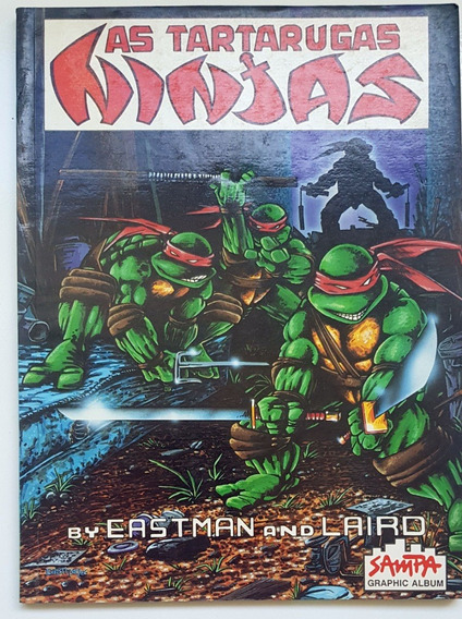 As Tartarugas Ninjas Eastman And Laird Sampa Graphic Album