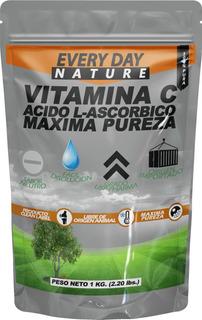 Vitamina C Pura Acido Ascorbico 1 Kilo 100% Usp