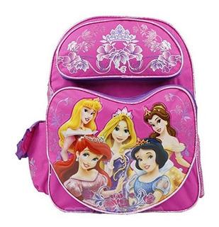 Princesas Disney Mochila Grande De 160 En Diseño De Corazon