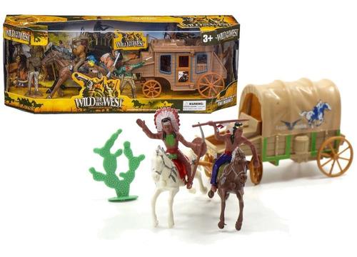 Vaqueros Y Apaches Set Del Oeste Cowboy Palermo Vicent Lopez