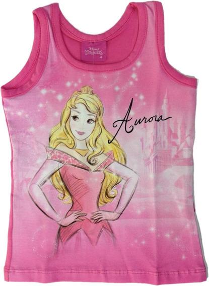 Blusa Infantil Princesa Aurora Brandili - 32665 - Tam 4 À 10